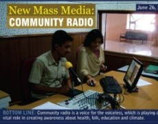 New Mass Media: Community Radio